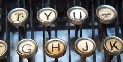 immagine macchina da scrivere: fatica!