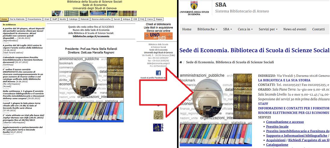 Unite Genova Calendario.Sito Della Biblioteca Di Economia In Dismissione Facolta